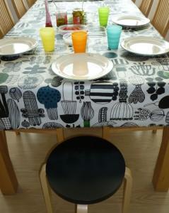 Keittiön pöytä