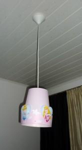 Makuuhuoneen prinsessalamppu : )