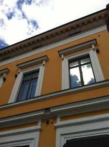 Kaunis, vanha talo.