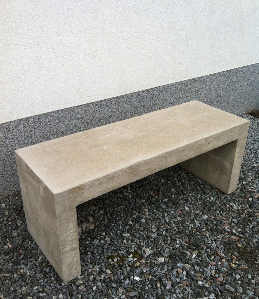 DIY betonipenkki.