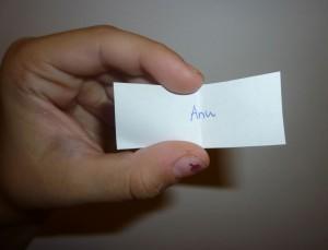 Voittaja on Anu!