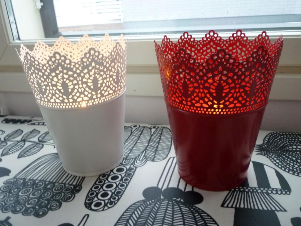 Uudet kynttilälyhdyt.